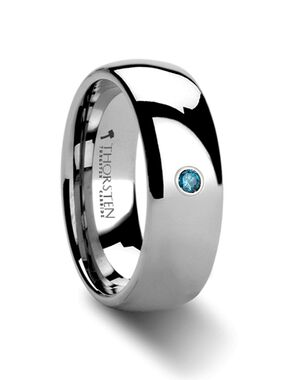 Mens Tungsten Wedding Bands W436-DBDH Tungsten Wedding Ring
