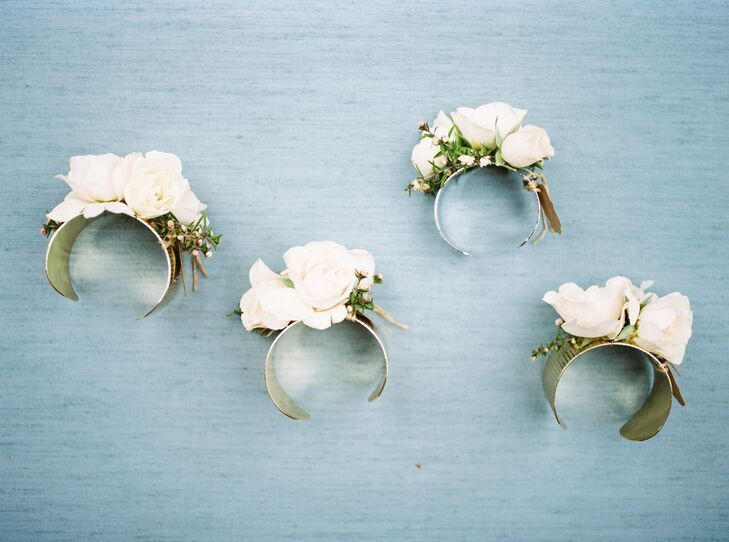 White Rose Cuffs