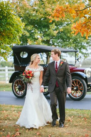 Vintage Model T Wedding Transportation