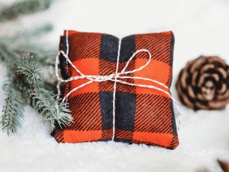 flannel hand warmer