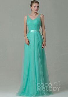 CocoMelody Bridesmaid Dresses COZF1500F V-Neck Bridesmaid Dress