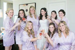 Purple Bridesmaid Robes