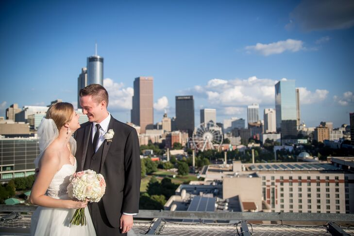 Kate Hopkins Warihay (26 and a lawyer) and Will Warihay (30 and a lawyer) knew they would get married in Atlanta, Georgia, since