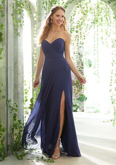 Morilee by Madeline Gardner Bridesmaids 21611 Strapless Bridesmaid Dress