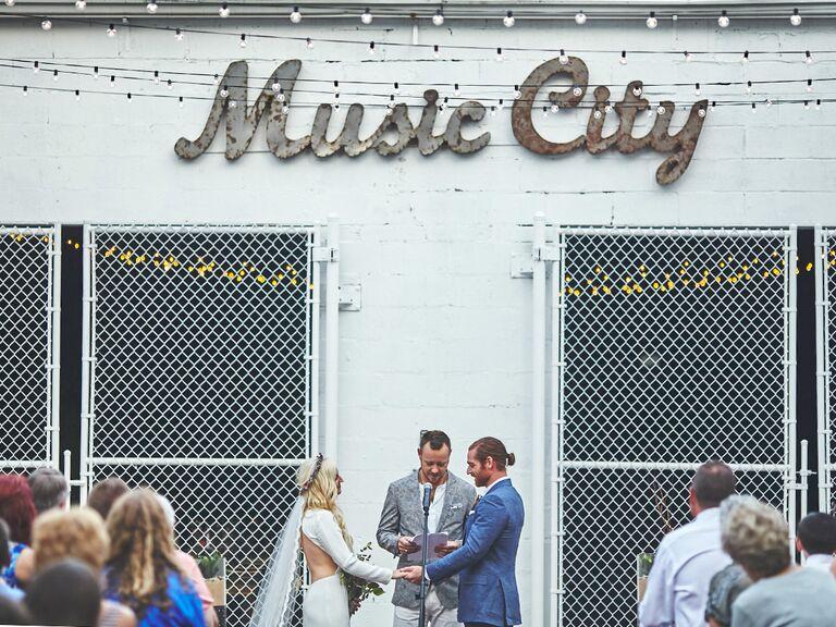 music city Tennessee wedding