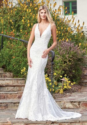 Jasmine Bridal F211058 Mermaid Wedding Dress