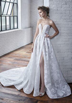 Badgley Mischka Bride Carina A-Line Wedding Dress
