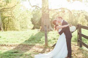 Sleepy Hollow Farm Wedding Portrait