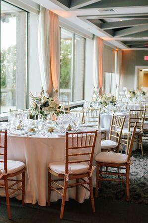 Elegant Reception at Gurney's Montauk Resort in New York