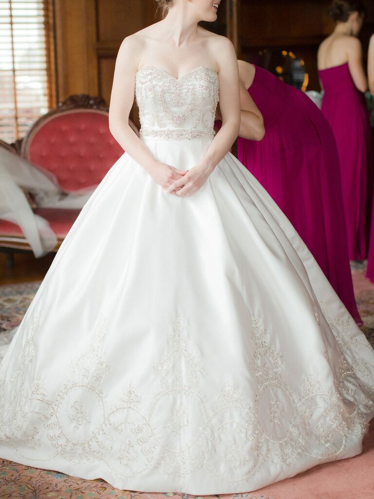 25 Princess Wedding Gowns With Beading, Crystals and ...