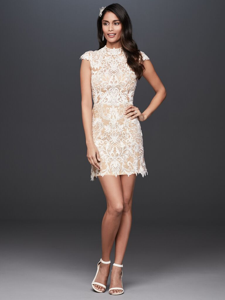 Galina​​ short sexy wedding dress