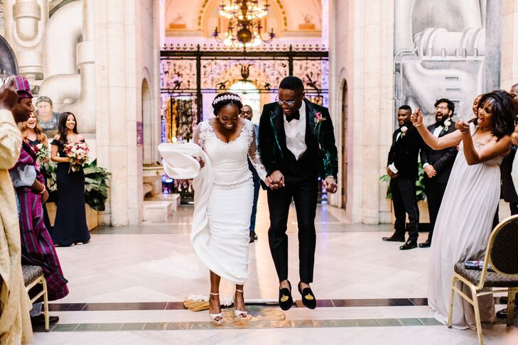 Jumping the Broom at the Detroit Institute of Arts