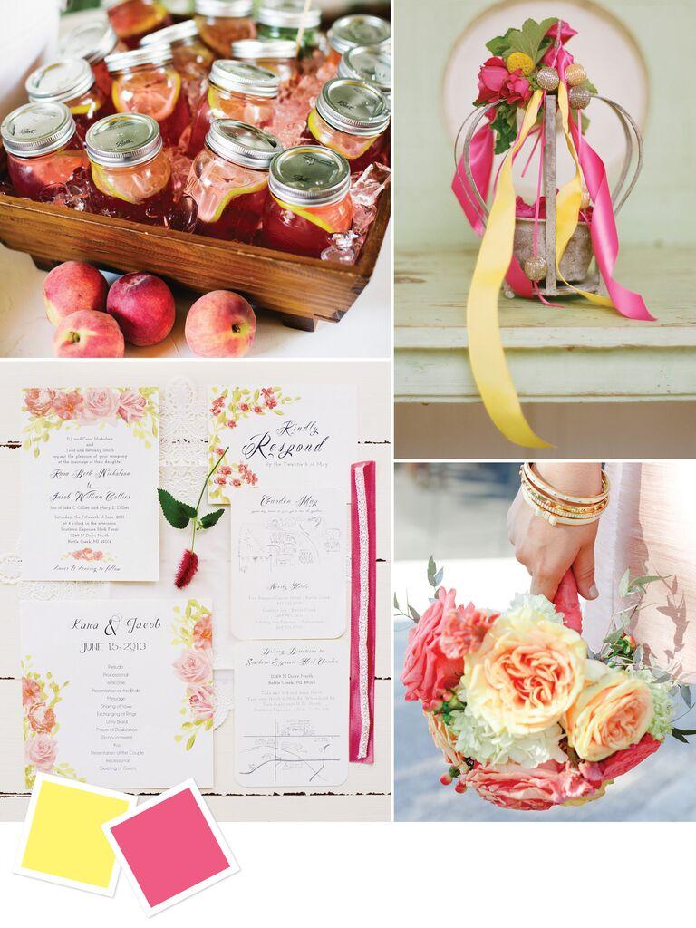 Bright Summer Wedding Color Ideas
