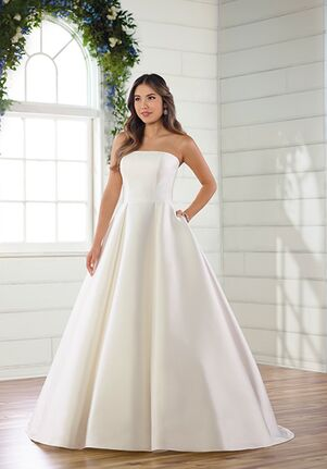 Essense of Australia D2952 Ball Gown Wedding Dress