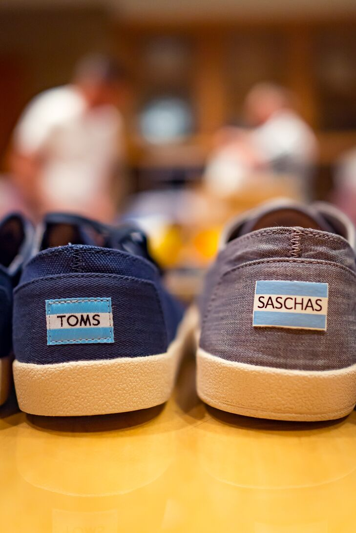 Personalized TOMS Sneakers