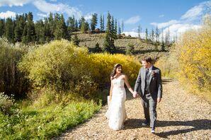 Gabrielle and Joe's Mountain Couple Photos