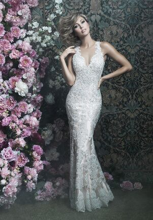 Allure Couture C401 Sheath Wedding Dress