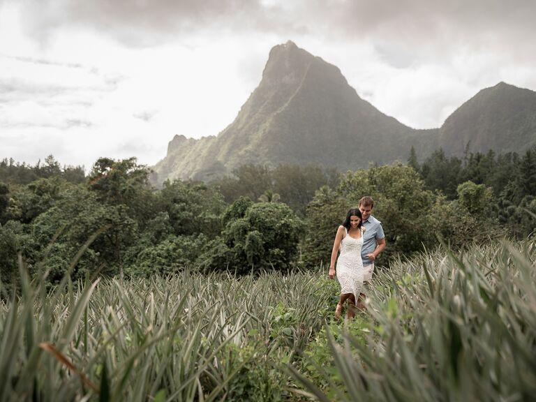 Tahiti anniversary photo