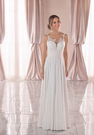 Stella York 6840 A-Line Wedding Dress