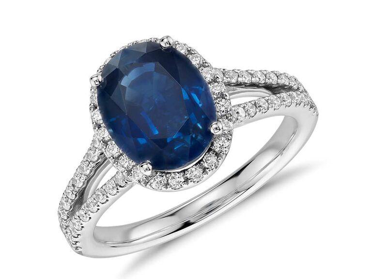 dazzling sapphire ring