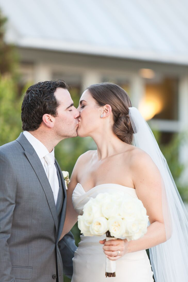 Newlyweds First Kiss
