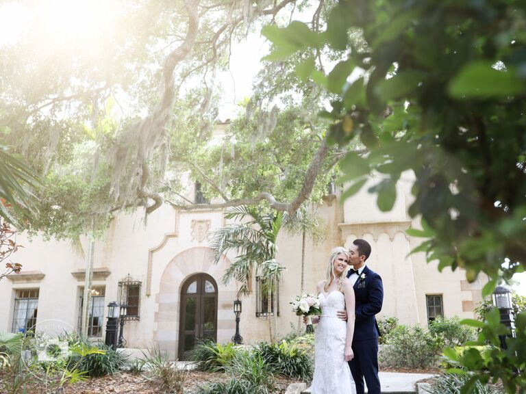 Wedding venue in Sarasota, Florida.