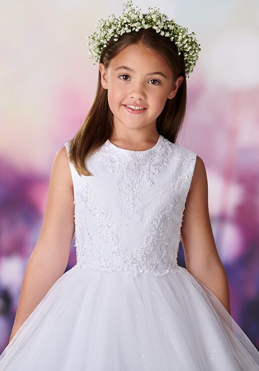 d7f9123409 Joan Calabrese by Mon Cheri 119378 Flower Girl Dress - The Knot