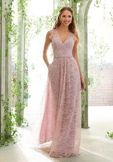Morilee by Madeline Gardner Bridesmaids 21620 V-Neck Bridesmaid Dress