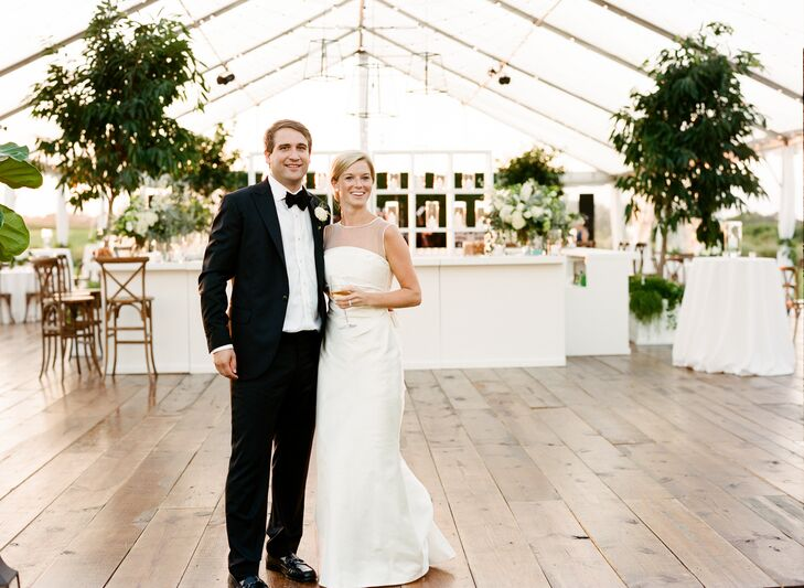 With nearly 400 guests in tow, Caroline Smith (27 and a labor and delivery nurse) and Gil Smith (29 and a commodities trader) celebrated their nuptial