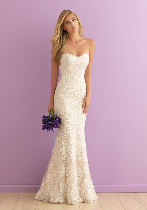 Allure Romance 2903 Sheath Wedding Dress