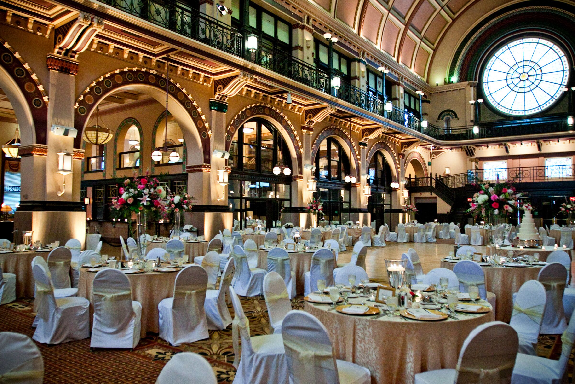 Grand Hall At Historic Union Station Reception Venues Indianapolis In