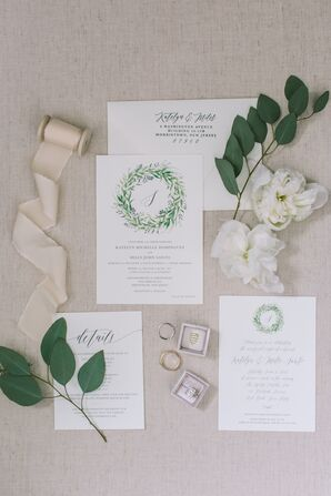 Simple Wedding Suite with Organic Feel
