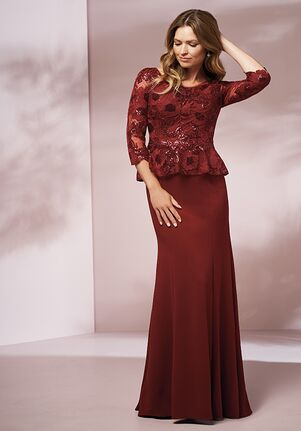 Jade J205013 Red Mother Of The Bride Dress