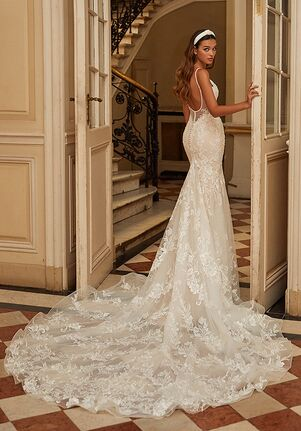 Moonlight Couture H1464 Mermaid Wedding Dress