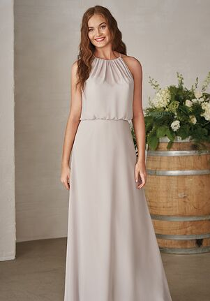 JASMINE P206003 Halter Bridesmaid Dress
