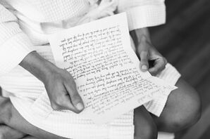 Handwritten Letter to the Bride