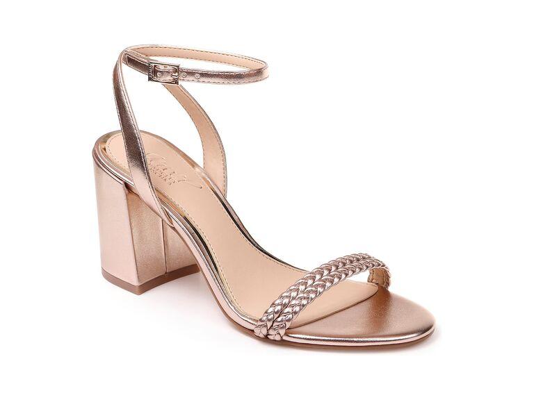Jewel by Badgley Mischka Suri block heel sandals
