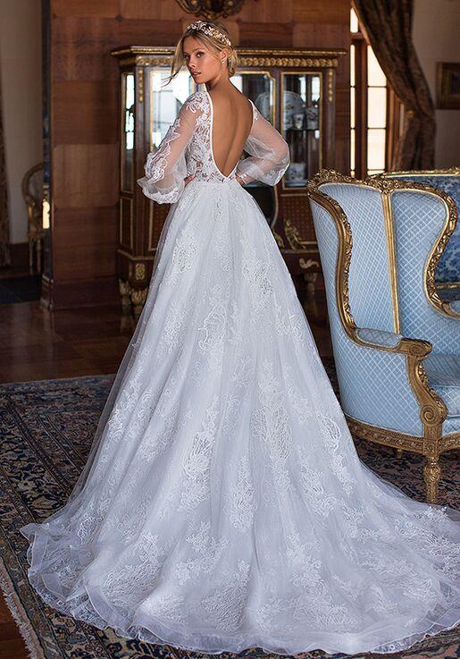 Moonlight Couture H1375 A-Line Wedding Dress