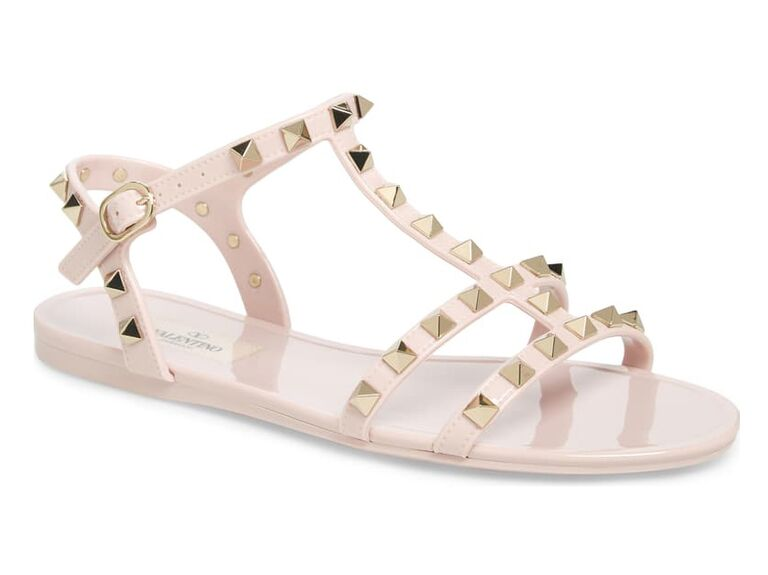 Valentino beach wedding shoes