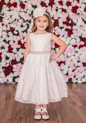 Kid's Dream 490 Ivory,Champagne Flower Girl Dress