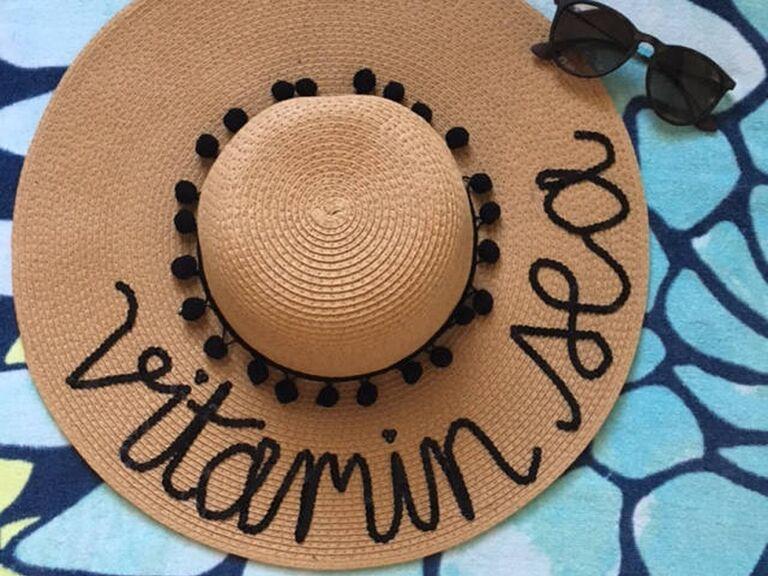 Vitamin Sea floppy sun hat