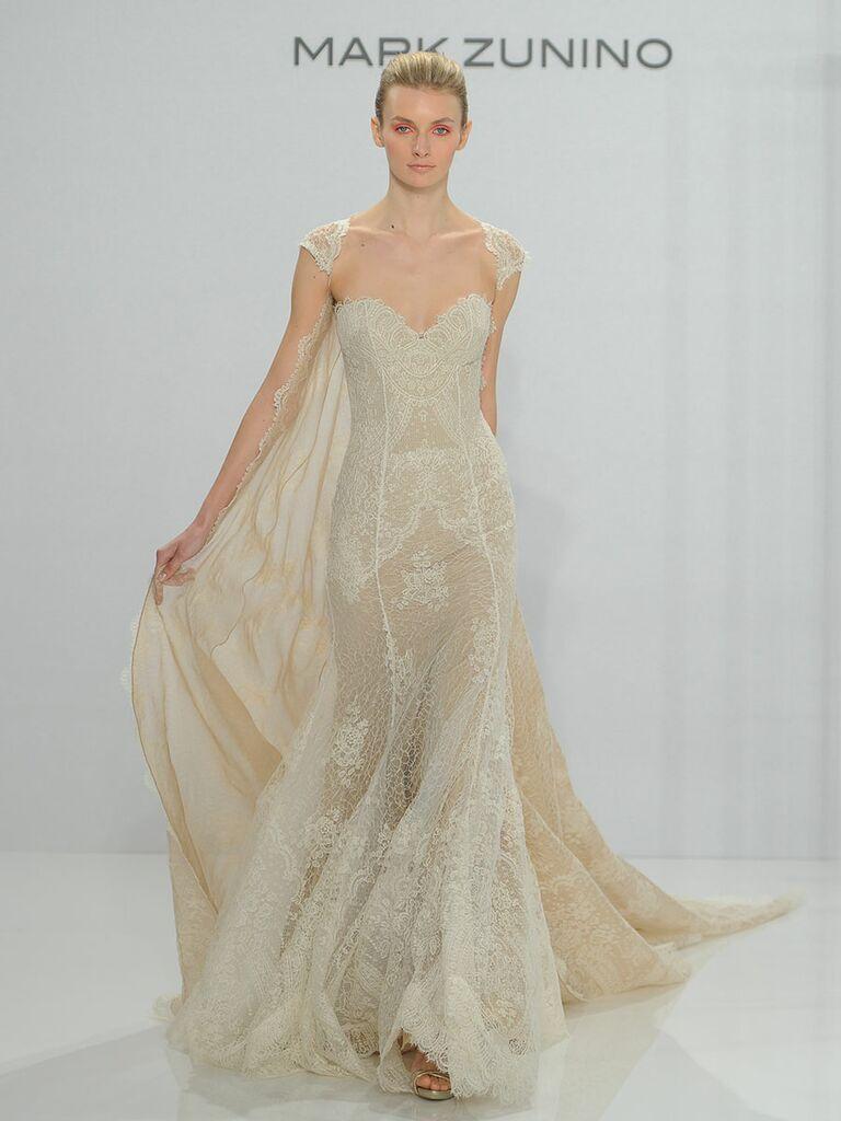 Mark Zunino Fall 2017 Collection: Bridal Fashion Week Photos