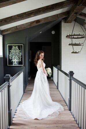Hayley Paige Star A-Line Wedding Dress