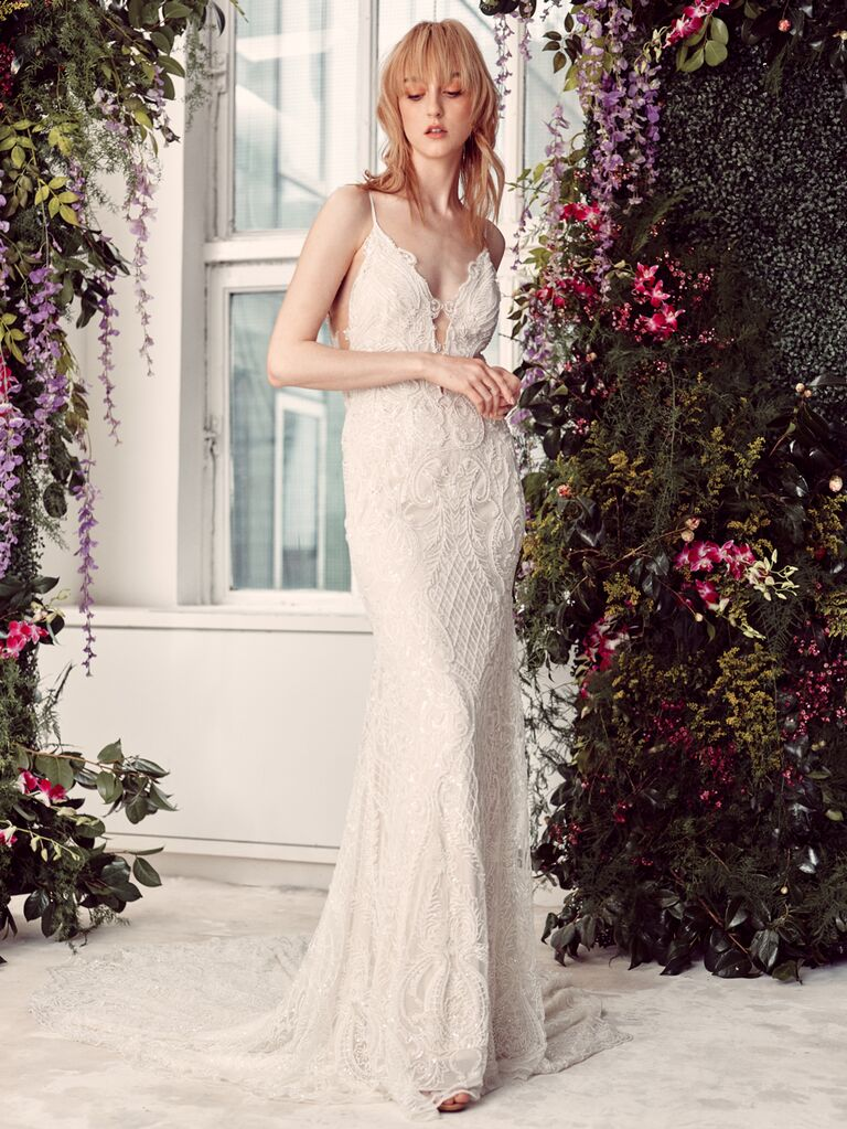 Rivini by Rita Vinieris Spring 2020 Bridal Collection embroidered lace wedding dress