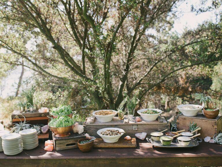 Vegetarian Wedding Menu