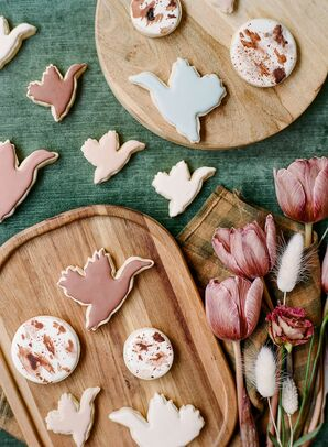Duck Cookies for Reception at Vista Valley Country Club in California