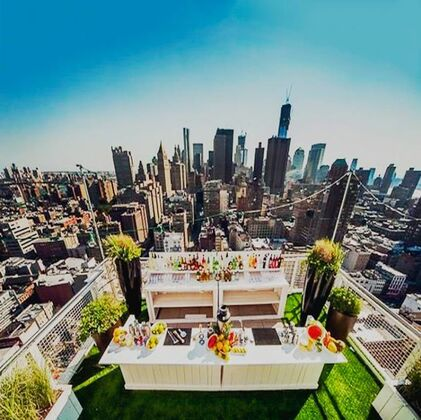 Mondrian Park Avenue - Mondrian Terrace - Rooftop Bar - New York City, NY