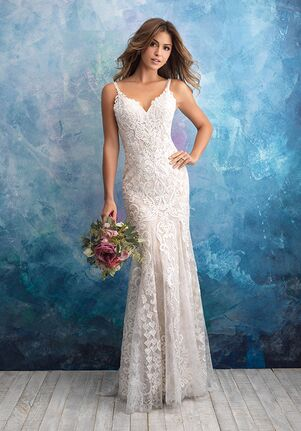 Allure Bridals 9575 Sheath Wedding Dress