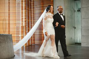 Wedding Processional at The Cathedral of Christ the Light in Oakland, California