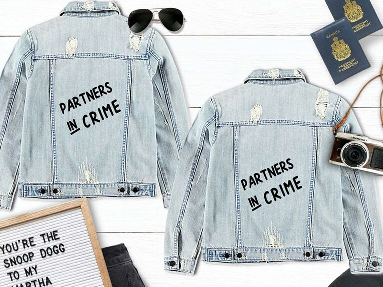Joint bach party gift jean jackets